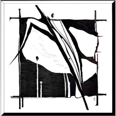 Wandbild - Intarsie/Relief