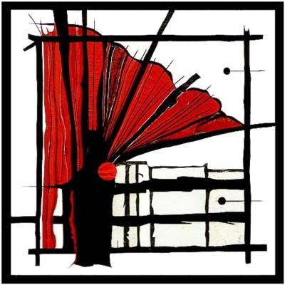 Lederbild - Intarsie mit div. Lederarten