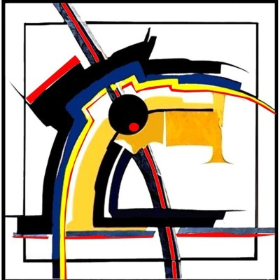 Wandbild - Intarsie
