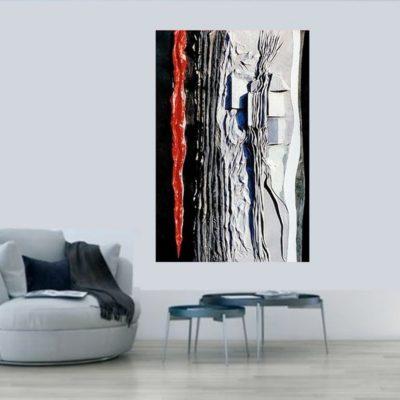 Wandrelief Glatt- + Veourleder